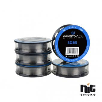 Draht SS316L Wire 28ga - Vandy Vape 30ft