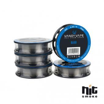Draht NI80 Wire 28ga - Vandy Vape 30ft